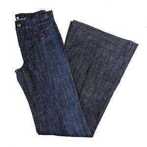 7FAMK Ivy Yosemite Wide Leg Jeans 26